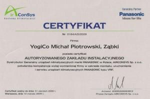Instalowanie rekuperacji - Certyfikaty #25