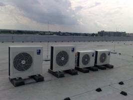 Klimatyzacja w budynku biurowym Bosch w Warszawie #09