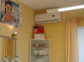 Klimatyzacja w salonie fryzjerskim #03