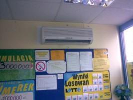 Klimatyzacja w kolekturach lotto w woj. Mazowieckim #01