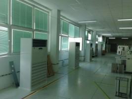 Klimatyzacja w hali produkcyjnej w Ciechanowie #02