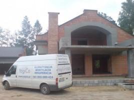 Rekuperencja domu jednorodzinnego w Izabelinie #01