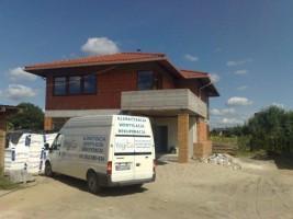 Rekuperacja domu jednorodzinnego w Wawrze #02
